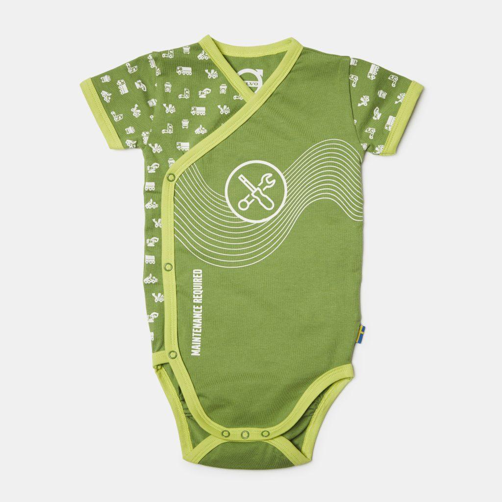 VMC11261526568 BODY DZIECIĘCE 62/68 GREEN
